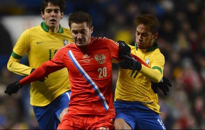 Brazil 1-1 Nga: Dấu ấn Capello