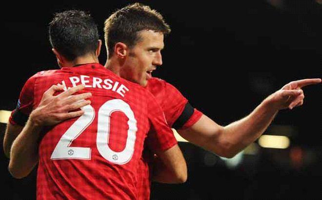 Đánh bại Persie, Carrick là Cầu thủ xuất sắc nhất mùa giải của Man United