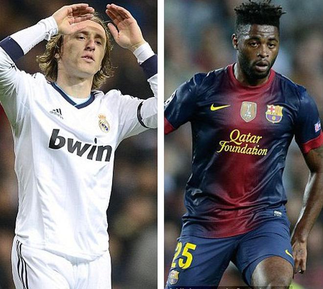 Modric và Song, bản hợp đồng tệ nhất La Liga mùa bóng 2012