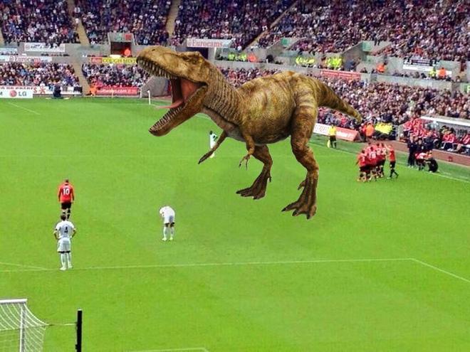 Chế - Vui - Độc: Tìm ra lý do Rooney không ăn mừng cùng Man Utd