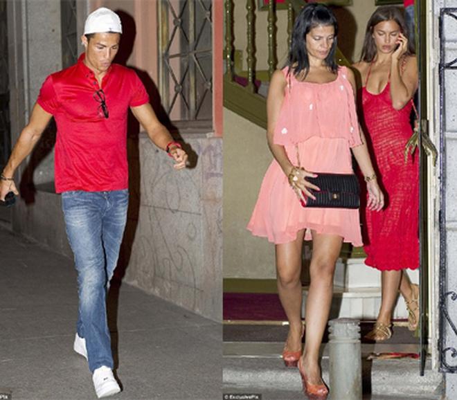 Áo đỏ đồng hồ đỏ, Rô điệu đi ăn tối với mẹ vợ tương lai