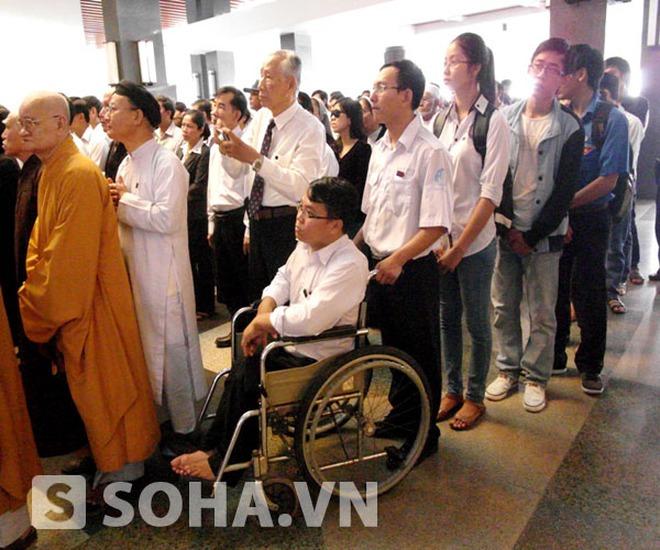 """Hai công dân """"đặc biệt"""" viếng tang Đại tướng Võ Nguyên Giáp"""