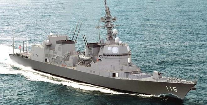Tàu khu trục khiến Hải quân Trung Quốc ôm hận