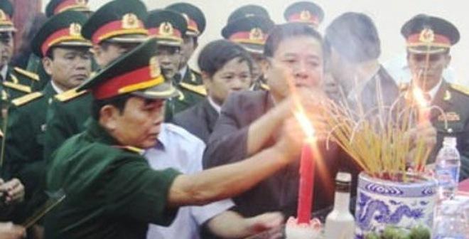 Toàn tỉnh Hà Tĩnh lập 12 ban thờ Đại tướng