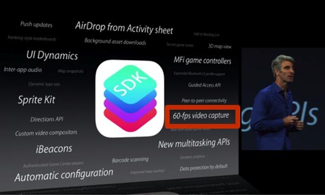 iOS 7 sẽ hỗ trợ quay phim... siêu chậm