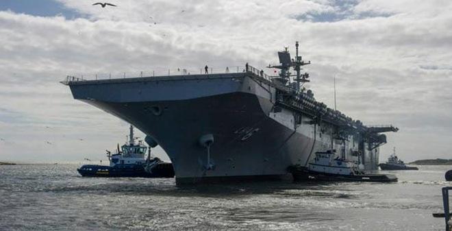 Hải quân Mỹ bí mật thử nghiệm siêu tàu đổ bộ LHA-6