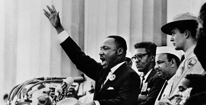 """Bài diễn văn bất hủ về """"giấc mơ"""" của mục sư Martin Luther King"""