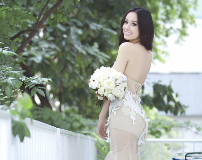 Trọn bộ ảnh 'cô dâu nóng bỏng' Mai Phương Thúy