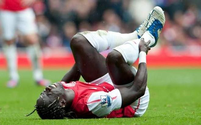 Arsenal lại đối mặt bão chấn thương