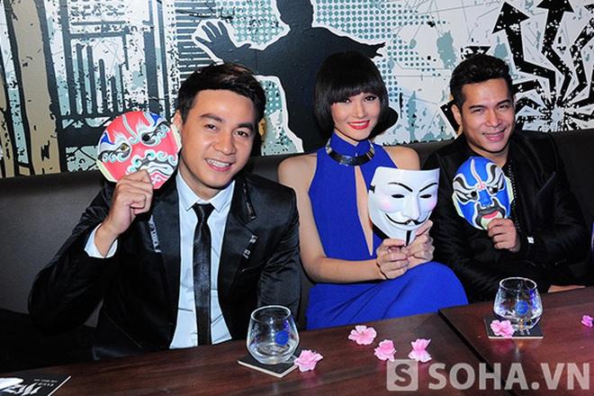 """Ngọc Thuận """"trai nhảy"""" và Thuỳ Trang Nexttop vui vẻ cùng dàn Geisha"""