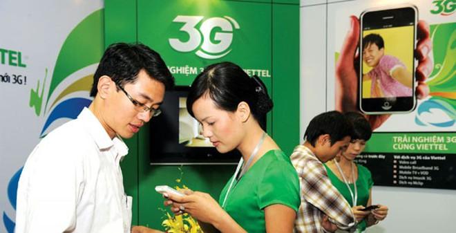 """Tăng giá cước 3G: Ba nhà mạng không """"đi đêm"""" để tăng giá?"""