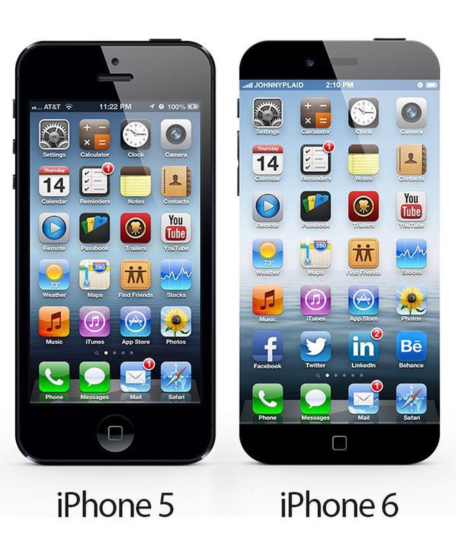 """Với màn hình không viền, iPhone 6 """"đập chết"""" iPhone 5?"""