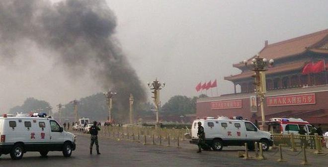 Vụ nổ ở Thiên An Môn: Nghi phạm là người Tân Cương