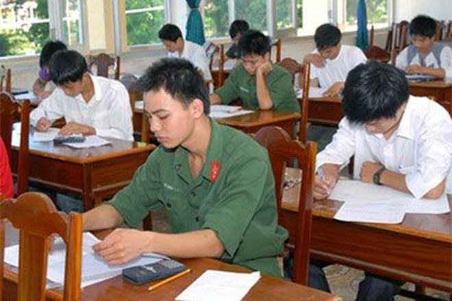 Những điểm mới trong tuyển sinh quân đội năm 2013