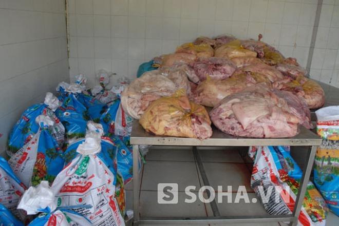 Thanh Hóa: Bắt giữ đối tượng vận chuyển nội tạng động vật bẩn đi tiêu thụ