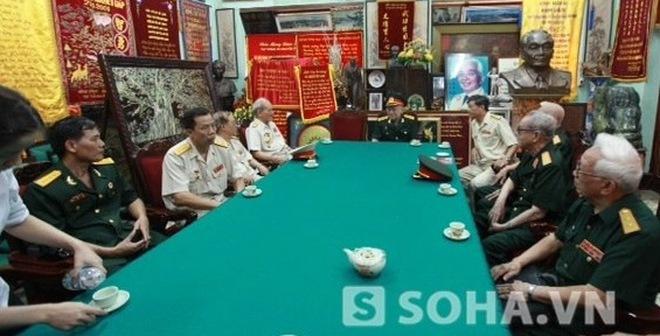 Cận cảnh phòng họp các tướng lĩnh chuẩn bị Quốc tang Đại tướng