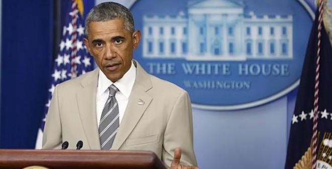 Phiến quân IS, Ukraine...lu mờ vì thời trang của Tổng thống Obama
