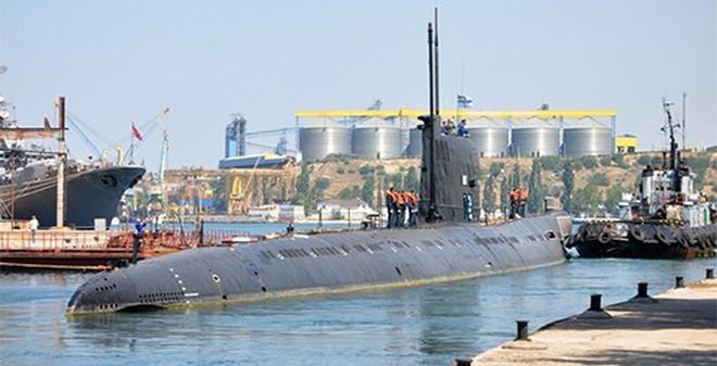 Hạm đội Biển Đen chê tàu ngầm Ukraine quá cũ