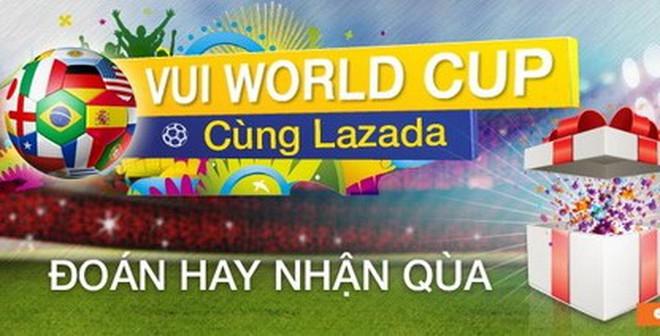 Sôi động và cuồng nhiệt World Cup cùng Lazada.vn