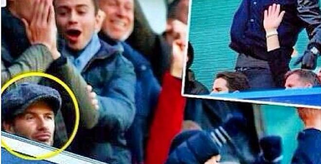 """David Beckham mặt """"méo xệch"""" vì Man United"""