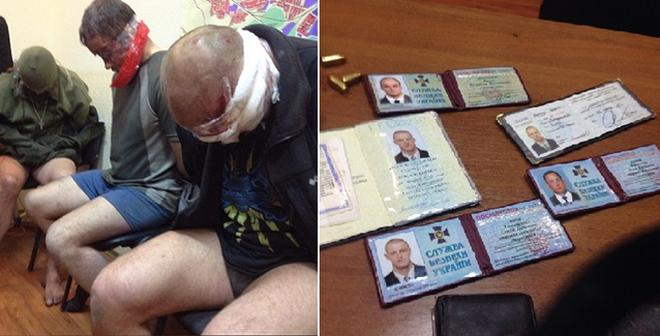 Video: Đặc nhiệm Alpha của Ukraine bị bắt trói tại nơi bí mật
