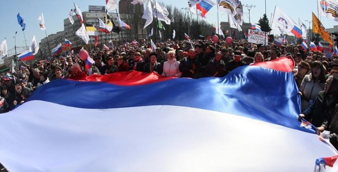 """Ukraine: Donestk tuyên bố """"độc lập"""", muốn sáp nhập Nga"""
