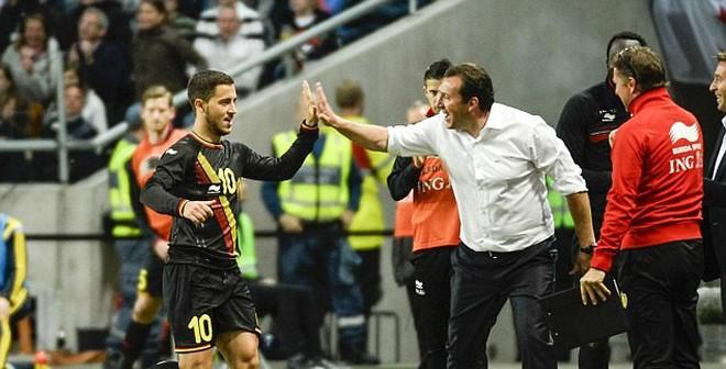 Mourinho lo sốt vó trước siêu phẩm của Eden Hazard