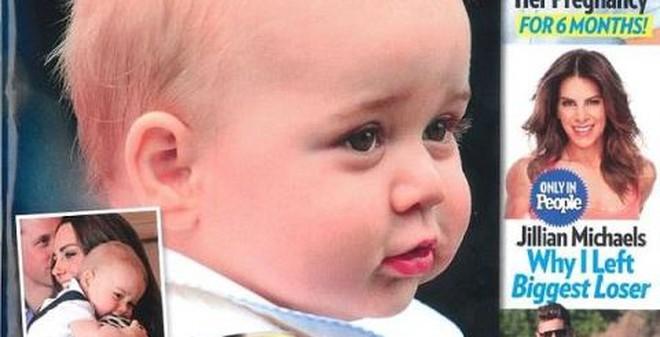Hoàng tử bé nước Anh cũng được chỉnh sửa để long lanh