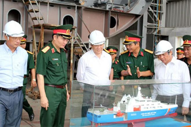 Việt Nam đóng tàu cứu hộ tàu ngầm cho Australia