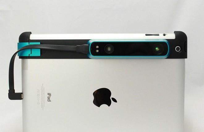 Thiết bị biến iPad thành máy quét 3D