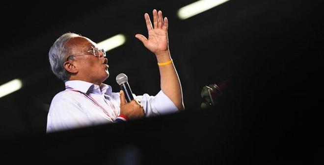 Thủ lĩnh biểu tình Thái Lan gửi thư giãi bày với Tổng thống Mỹ