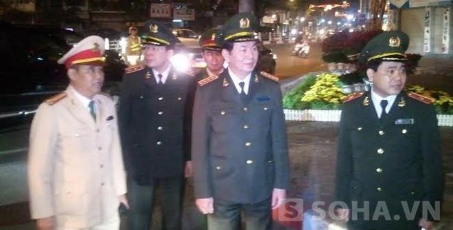 Đại tướng Trần Đại Quang xuất hiện tại chốt 141 đêm Giao thừa