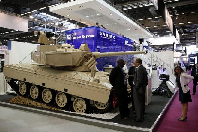 Chùm ảnh: Triển lãm vũ khí châu Âu Eurosatory 2014
