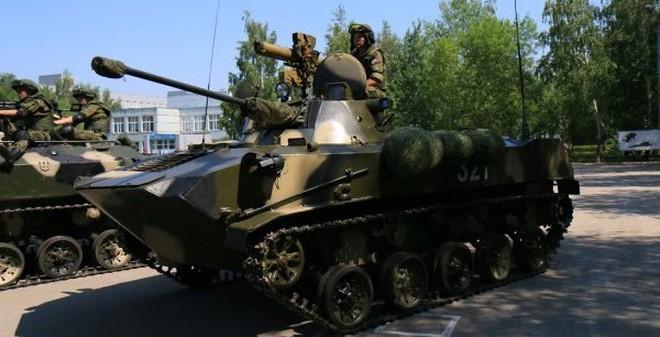 Kho vũ khí đáng ghen tị của lính dù Nga
