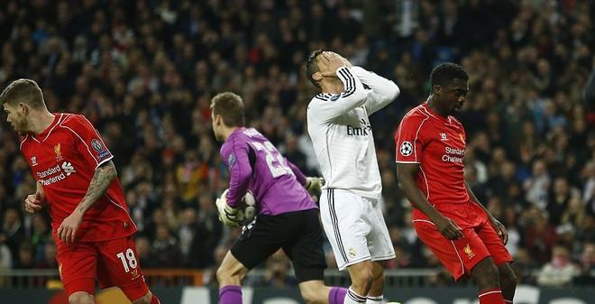 Real giành vé sớm, Cris Ronaldo thất vọng