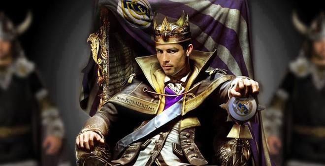 """Chế - Vui - Độc: Ronaldo, """"vị Vua cứng"""" nhất lịch sử Real"""