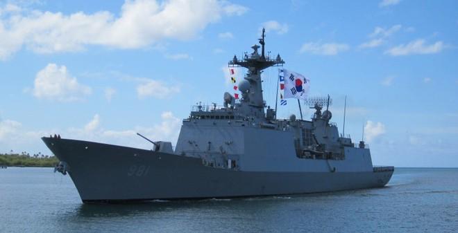 Sức mạnh biên đội tàu Hải quân Hàn Quốc vừa đến thăm Việt Nam