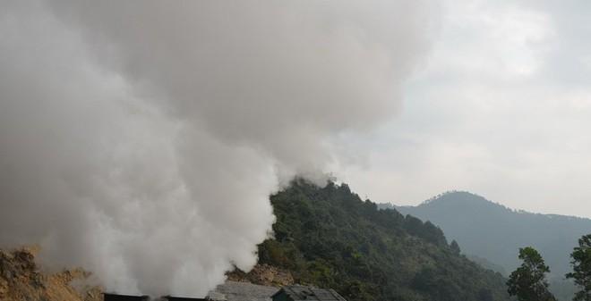 Cháy lò than, 6 công nhân thiệt mạng