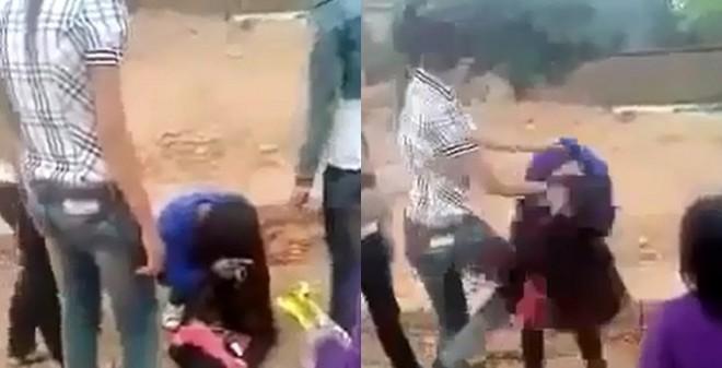 Sốc: Nữ sinh Bắc Giang đánh tới tấp... bạn gái của anh trai