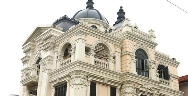 Chiêm ngưỡng lâu đài 2 mặt tiền trị giá hơn 2 triệu đô của đại gia Hải Phòng