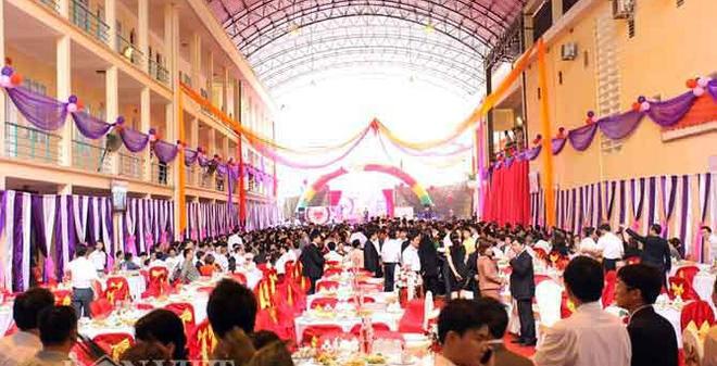 Trụ sở Điện lực TP Hà Giang thành nơi mở tiệc cưới con sếp
