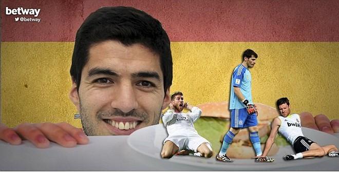Ảnh chế: Suarez phải khám răng, nhốt trong sở thú ở Barca