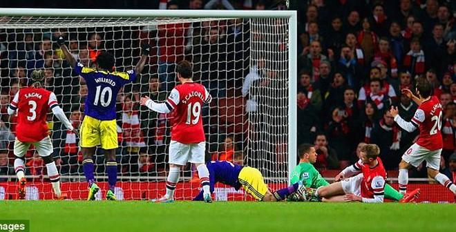 Arsenal 2-2 Swansea: Đau sao, Wenger!