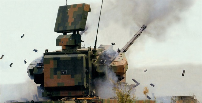 Pháo phòng không Trung Quốc bất lực trước trực thăng Nga, Mỹ