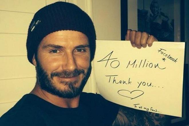 Beckham béo lên trông thấy sau khi giải nghệ