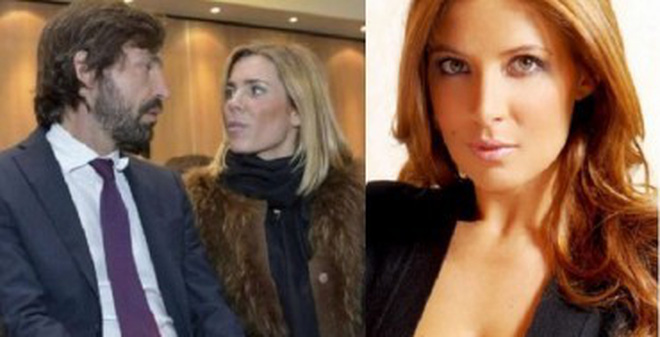 Andrea Pirlo chia tay vợ vì gái trẻ tóc vàng