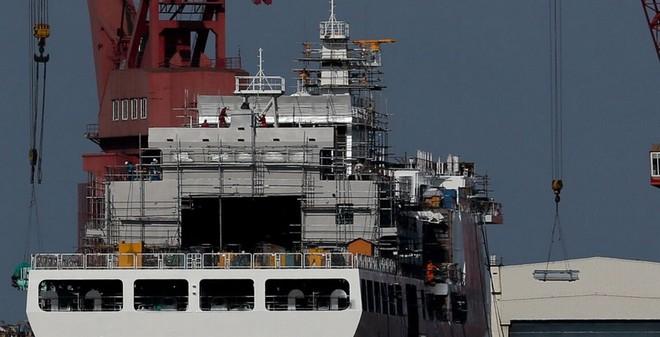 TQ có thể sắp hạ thủy tàu tuần duyên lớn nhất thế giới