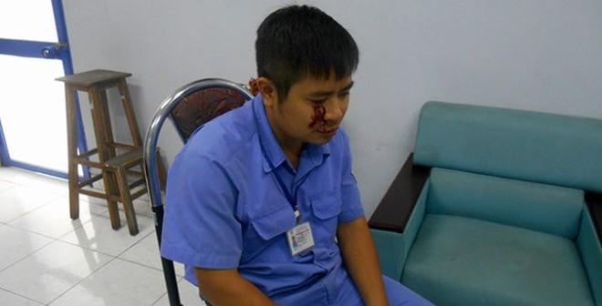 Đăng kiểm viên bị đánh khi làm nhiệm vụ