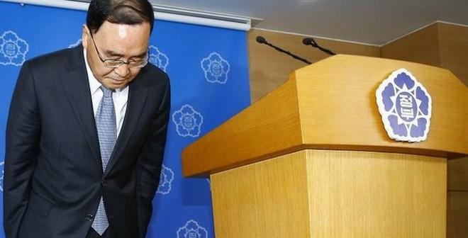 Thủ tướng Hàn Quốc xin từ chức sau phụ chìm phà Sewol