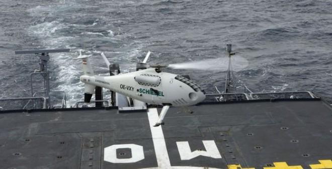 Việt Nam sẽ trang bị trực thăng của Áo cho chiến hạm SIGMA?